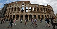 Римдеги Колизей. Архивдик сүрөт