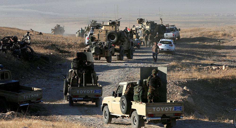 Мосулдагы Ирактын аскер кызматкерлери