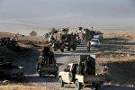 Колонна Ираксих военных в Мосуле