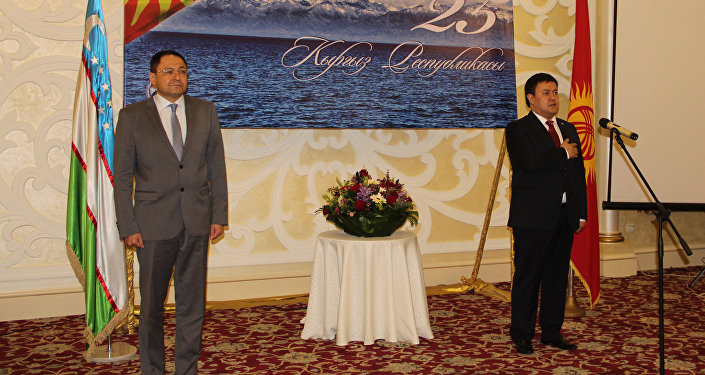 Өзбекстандан вице-премьер министри Адхам Икрамов кыргызстандык ишкерлер менен жолукту
