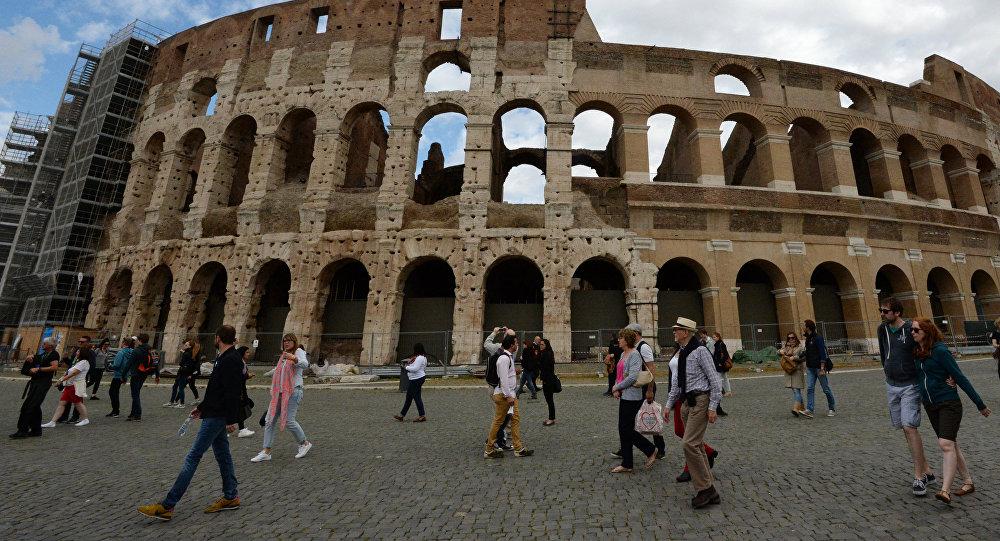 Колизей, Рим. Архив