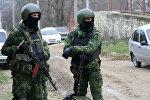 Сотрудники правоохранительных органов Дагестана во время спецоперации, архивное фото