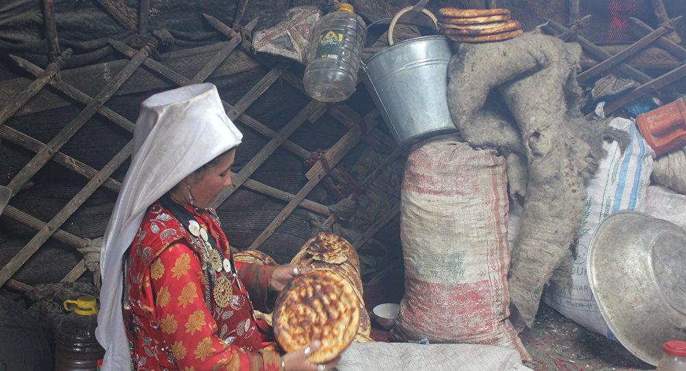 Жизнь и быт памирских кыргызов. Архивное фото