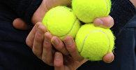 Теннис топтору. Архивдик сүрөтү