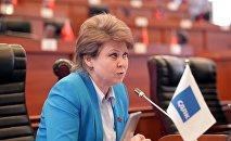 Депутат ЖК Ирина Карамушкина. Архивное фото