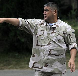Заместитель министра внутренних дел Кыргызской Республики по южному региону Асанов Курсан Сатарович. Архивное фото
