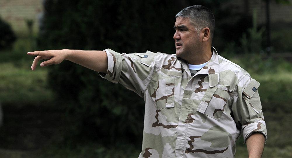 Заместитель министра внутренних дел Кыргызской Республики по южному региону Асанов Курсан Сатарович.
