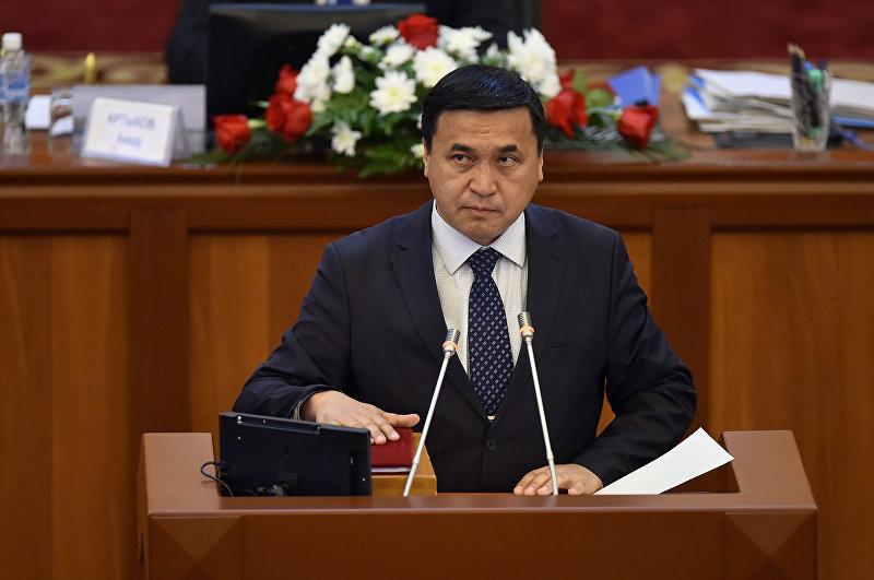 Депутат ЖК 6 созыва Каныбек Иманалиев от партии Ата-Мекен. Архивное фото