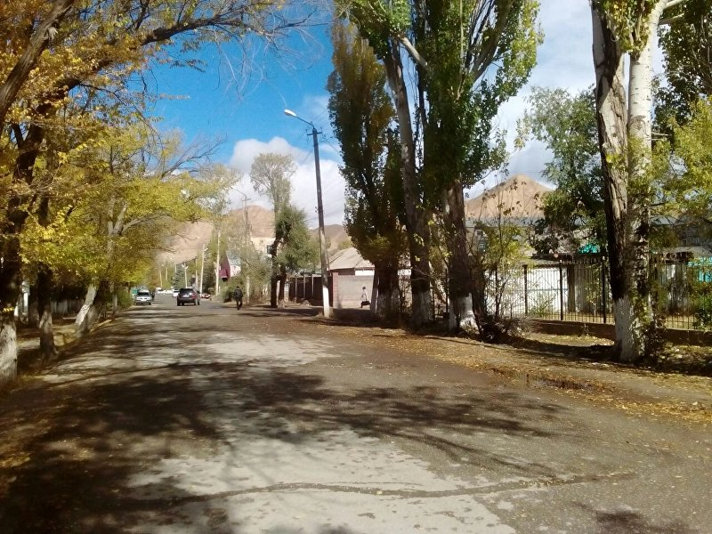 Одна из улиц Нарына