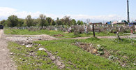 Аламудунское кладбище где были разрушены могилы
