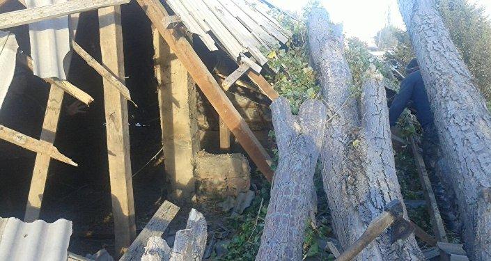 ӨКМдин маалымат кызматы Балыкчы шаарынын жарандык комитети келтирилген чыгымды эсептеп жатканын билдирди.