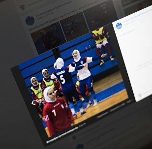 Снимок с социальной сети VK группы Ассоциация мини-футбола России. Товарищеский матч женских сборных Ирана и России