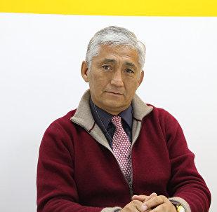 Глава движения СДПК без Атамбаева Сагынбек Абдрахманов. Архивное фото