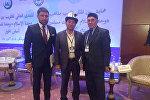 Кыргызстан мусулмандарынын азирети муфтийинин орун басары Акимжан ажы Эргешов Москва шаарында өтүп жаткан Ислам биримдиги, мусулмандар биримдиги — диалог негизинде аттуу дүйнөлүк форумда