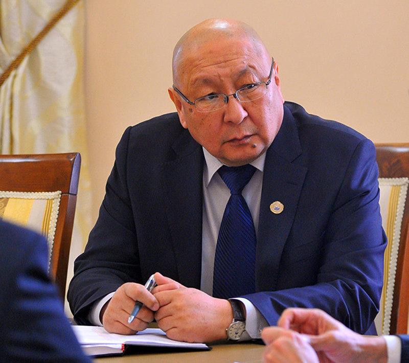 Полномочный представитель правительства в Иссык-Кульской области Эмильбек Каптагаев. Архивное фото
