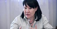 Экс депутат Асия Сасыкбаеванын архивдик сүрөтү