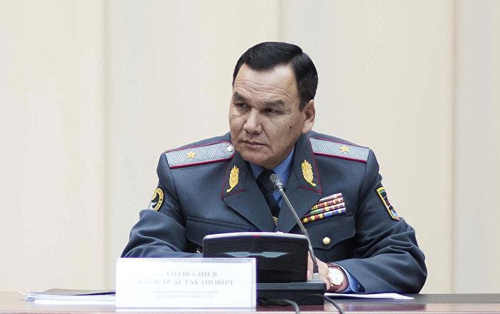 Министр внутренних дел Кашкар Джунушалиев. Архивное фото