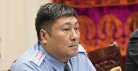 Бишкек шаарынын коменданты Алмазбек Орозалиев. Архив