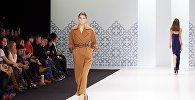 Кыргызстанский дизайнер Альбина Калыкова представила новую коллекцию одежды под брендом ALVI LAB на Moscow Fashion Week