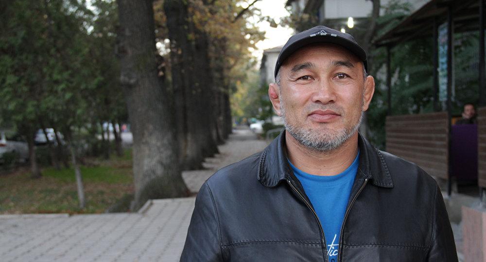 Кыргызстандык балбан Чынарбек Изабеков. Архивдик сүрөт