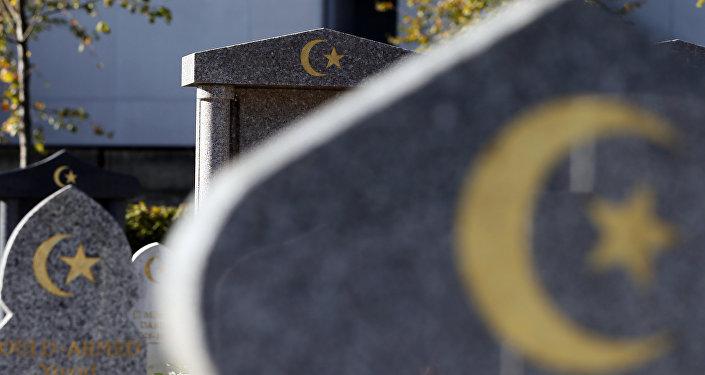 Мусульманское кладбище. Архивное фото