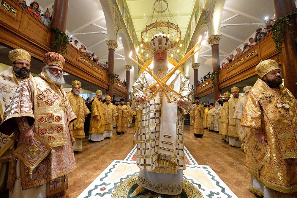 Визит патриарха Кирилла в Великобританию. Второй день
