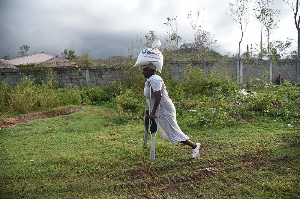 Последствия урагана Метью в Гаити