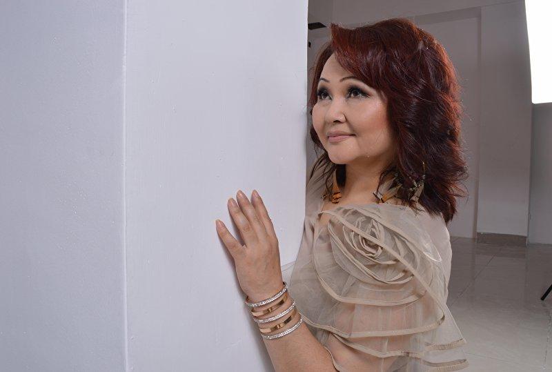 Заслуженная артистка Кыргызской Республики Айчурек Иманалиева