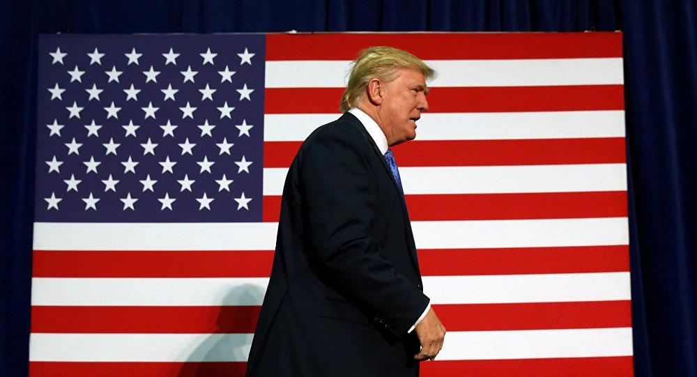 Архивное фото кандидата в президенты США от республиканцев Дональда Трампа