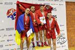 Кыргызстанский самбист Талас Бегалиев завоевал золотую медаль на проходящем в Хорватии чемпионате мира среди ветеранов