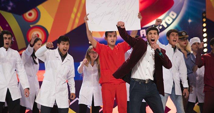 Полуфинал региональной лиги КВН Ала-Тоо в филармонии имени Токтогула Сатылганова