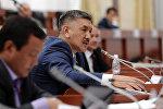 Жогорку Кеңештин депутаты Төрөбай Зулпукаров