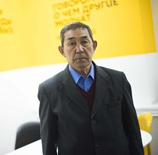 Чүй айыл өкмөтүнө караштуу Чүй айылынын 70 жаштагы тургуну Жапар Келгенбаев