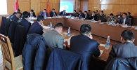 Өкмөттүн Ысык-Көл облусундагы ыйгарым укуктуу өкүлү Асхат Акибаевдин катышуусунда 9 айдын жыйынтыгы боюнча координациялык кеңештин жыйыны болду