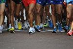 Участники соревнований по бегу. Архивное фото