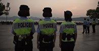 Кытайдын полиция кызматкерлери. Архив