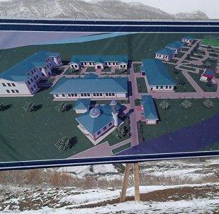 Нарын шаарында томолой жетим балдар үчүн атайын мектептин курулушу башталды