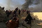 Мосулдун жашоочулары. Ирак. Архивдик сүрөт