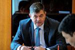 Кыргызстандын экономика министри Олег Панкратов. Архив