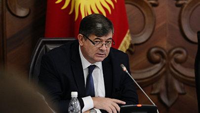 Министр экономики КР Олег Панкратов. Архивное фото