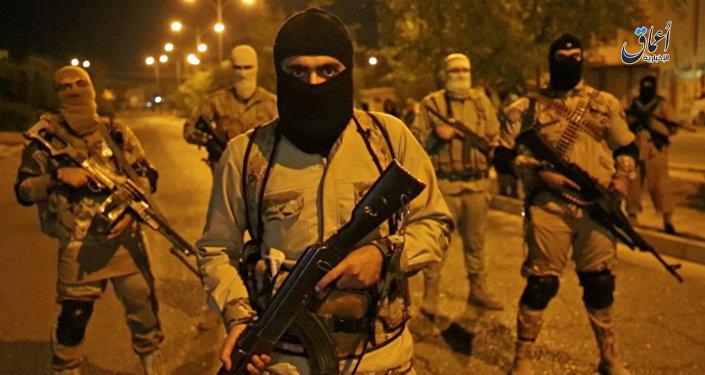 Боевики террористической группировки. Архивное фото