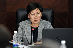 Архивное фото вице-премьер-министра Кыргызской Республики Гульмиры Кудайбердиевой