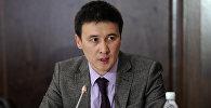 Улуттук энергохолдинг ишканасынын директору Айбек Калиев. Архивдик сүрөт