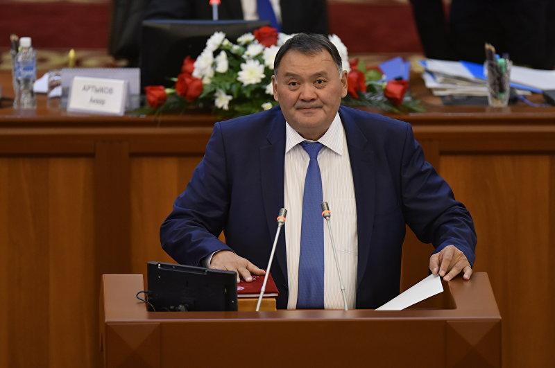Депутат ЖК КР от партии Онугуу-Прогресс Жолдошбаев Камчыбек Жолдошбаевич