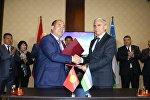 Визит делегации Узбекистана в город Ош