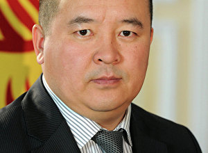 Первый заместитель руководителя аппарата президента КР Илмиянов Икрамжан Саттарович.