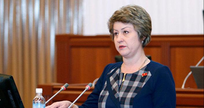 Депутат Жогорку Кенеша Альфия Самигулина