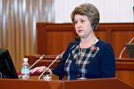 Архивное фото депутата ЖКО от фракции СДПК Альфии Самигуллиной