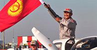 Первый в ЦА: летчик Салиев сел в Кыргызстане после кругосветного путешествия