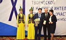 Вице-премьердин милдетин аткаруучу Гүлмира Кудайбердиева КМШга мүчө мамлекеттердин чыгармачыл жана илимий интеллигенциясынын XI форумун ачты